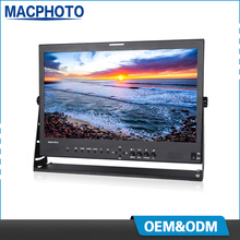 Aviation aluminum case ips panel resolution 1920x1080 21.5 inch HD SDI monitor for broadcasting