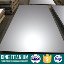Rolled and Polished ASTM B265 CP Grade 2 Titanium Sheet Grade 7 Titanium Sheet In Stock