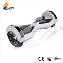 8 inch 2 wheel scooter/hoverboard with bluetooth speaker adult electric scooter