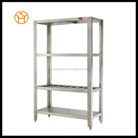 Assemble 304 restaurant kitchen stainless steel shelves , commercial stainless steel shelves