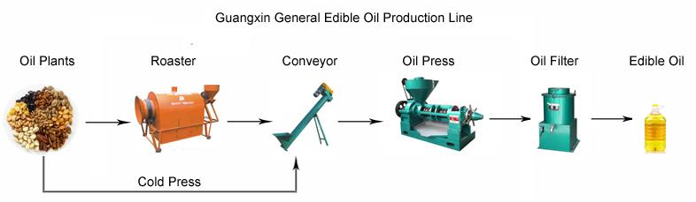 Big Processing Capacity Cold Pressed Avocado Oil Machine