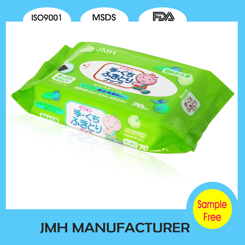 Hand and mouth cleaning baby care wet wipe