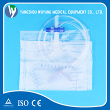 Common urine bag medical catheter urine bag with plastic urethral tube