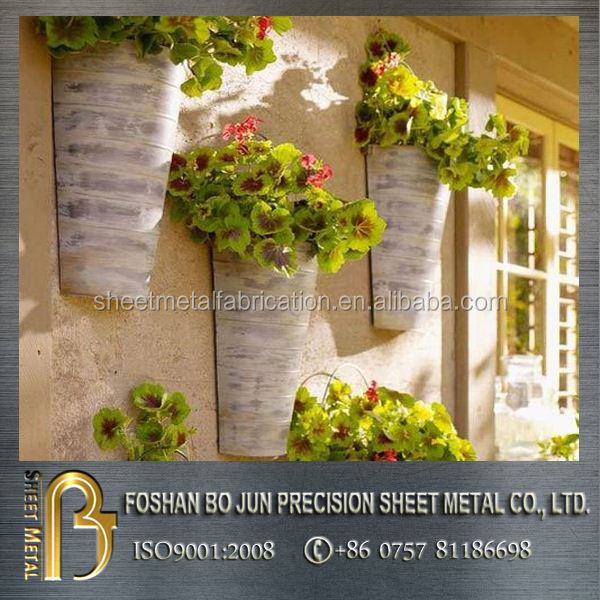 customized outdoor ceramic wall mounted flower pot planter pot