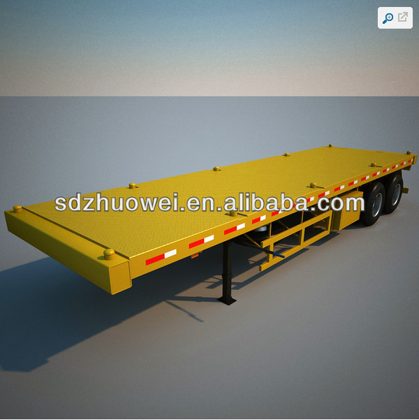 2014 New type flatbed car transportation/ semi trailer 2 axles