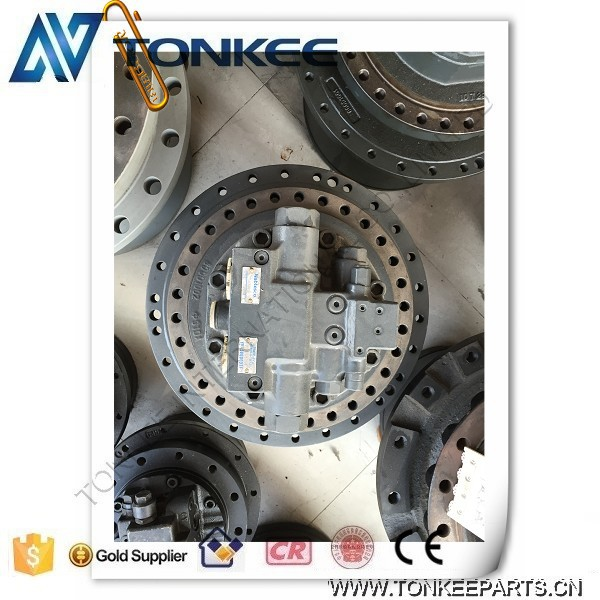 YN15V00037F2 NABTESCO GM38VB-A-79-131 travel motor SK200-8 travel device excavator final drive for KOBELCO