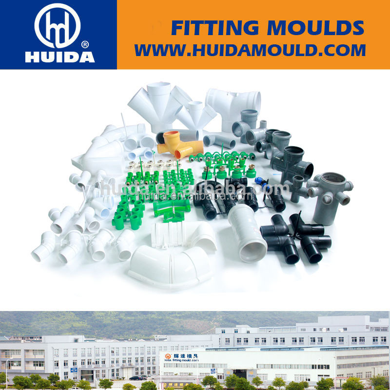 collapsible core injection molding plastic pp/pvc/pe/ppr/ppsu plastic injection mold