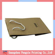 Guangzhou Wholesale Cheap Kraft Foldable Shopping Bag