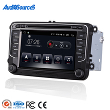 wholesale double 2 din radio vw touareg golf 6 android auto car dvd stereo