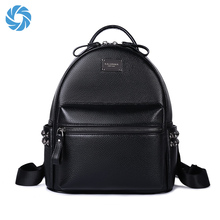 Ladies Bag Genuine PU Leather Women Cute Mini Backpack