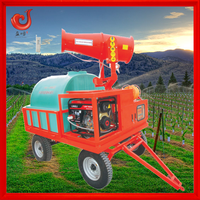 orchard tree pesticide remote control vehicular sprayer