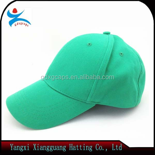 100% lighter cotton plain 6 panel baseball cap/promotion hat