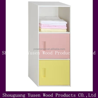 cheap wooden waterproof toy office cabinet storage cabinet