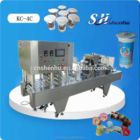 China original hot shanghai cooking oil cups filling and sealing machine CE standard 1 years warrantee