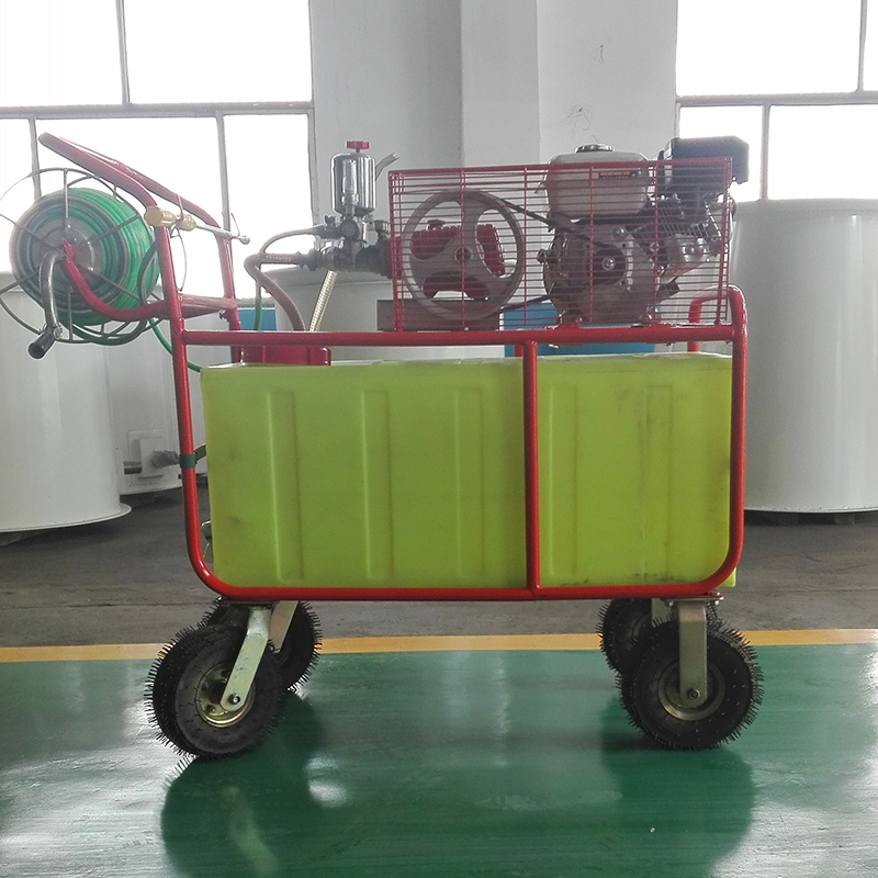 Long throw water mist fruit tree sprayer orchard sprayer