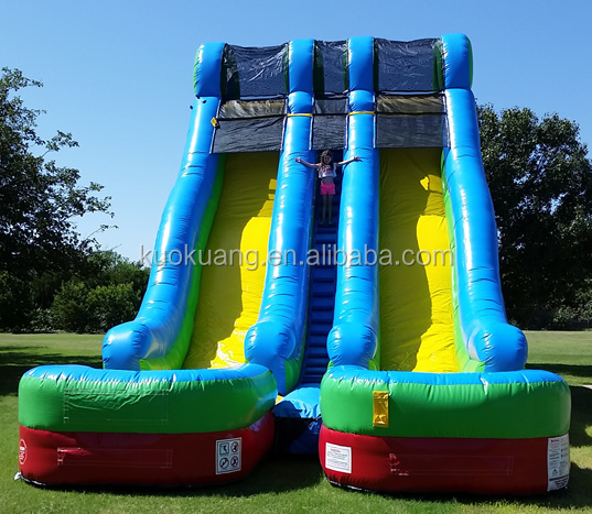 24 ft Commercial Inflatable Water Slide, inflatable Slip and Slide, Slip N Slide infaltable