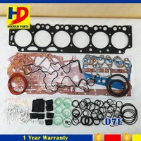 D7E Excavator Engine Overhaul gasket kit for engine parts