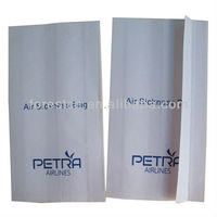brown kraft paper bags/air sickness bag airline product