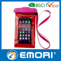 Save 20% hot sale promotional 100% sealed plastic beach bag waterproof drawstring bag for iPad