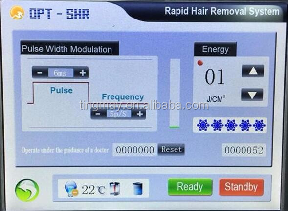 IPL hair removal OPT SHR Elight ipl hair removal machine