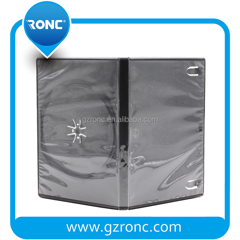 Smooth Film single double 14mm CD DVD Case