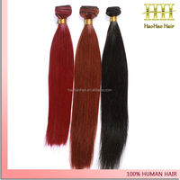 products exported to dubai black and red silky straight supreme hair extension