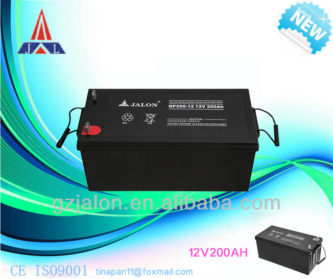 Hot! high quality and reasonable price solar gel battery 12v 200ah