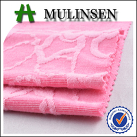 Mulinsen textile solid dyed fashion dresses in jacquard fabric