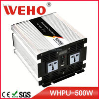 Variable frequency 500w 12v 110v ups power inverter with charger