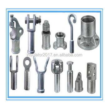 Supplier of composite Insulator Metal End Fittings Tongue and Clevis