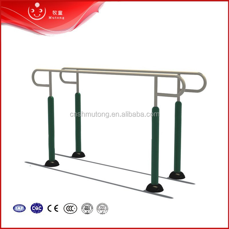 School or community exercise outdoor parallel bar