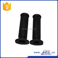 SCL-2013080250 Motorcycle Rubber Gel Handle Bar Handlebar Grips With Bar End Cap Plug Universal rubber handle grip