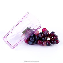 New design Transparent custom 200ml mineral glass water bottle with fruit infuser