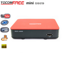 Receptor satelital speed hd s5 satellite receiver Tocomfree mini S929 sks iks 3G IPTV Tocomfree s929 plus for South America