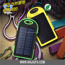 new products innovative product 4000-8000mah solar power banks portable solar cell phone charger power bank