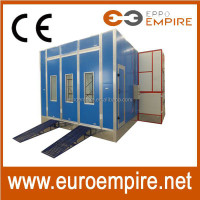 Hot sale pdr tools CE approved used car paint booth/paint booth/paint booth with water curtain