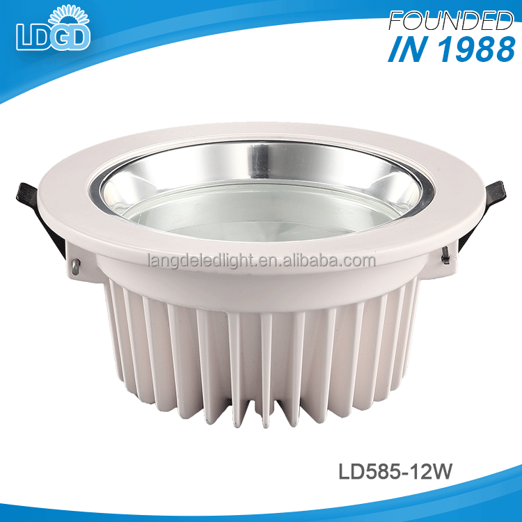 Factory direct supply hot selling 12w 15w 18w super bright led downlight housing with cheap price