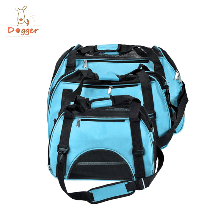 2018 new arrival top quality Soft Sided Cat small Dog Comfort Airline Approved pet carrier