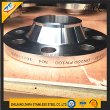 1.4301 304 stainless steel weld neck flange