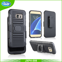 Fast Delivery 3 en 1 Holster Combo Cover Case for Samsung Galaxy S7 Edge