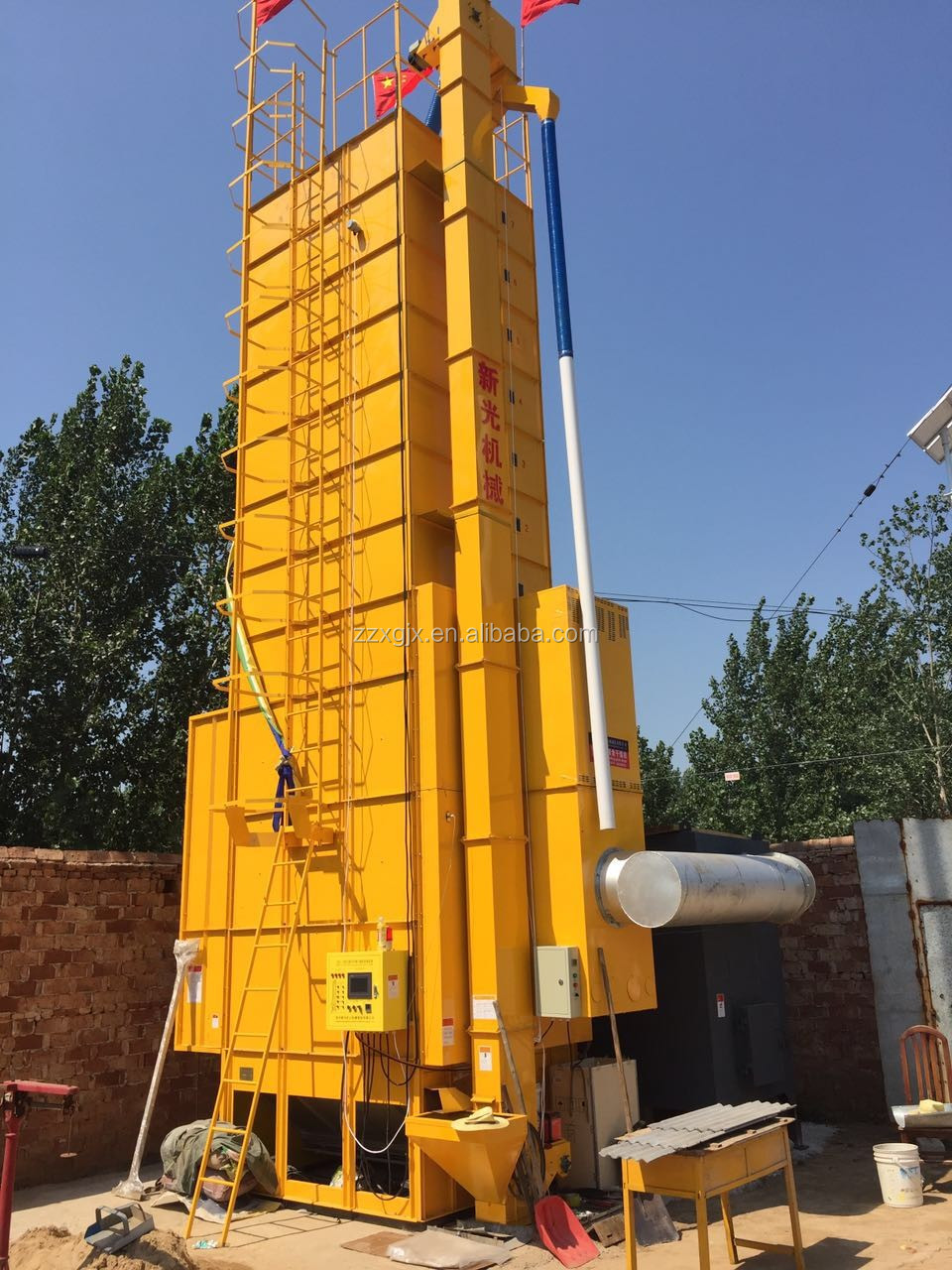 High Output Corn Dryer With Good Drying Efficiency