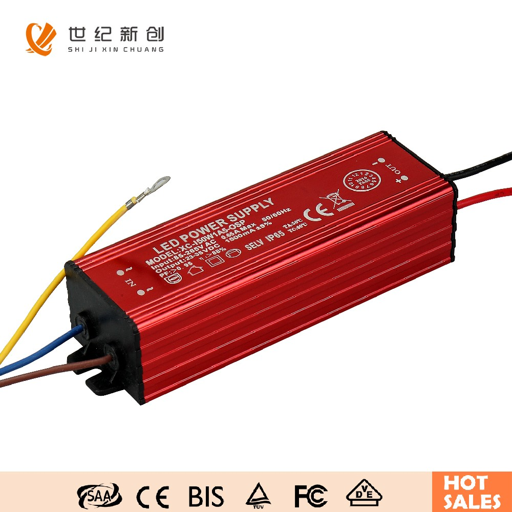 1500ma 50W HOT SALE CE waterproof led driver