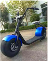 2017 popular fat tire electric scooter with big wheels fashion citycoco electric scooter