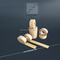 Gummed logo printed kraft paper tape made in China factory directly