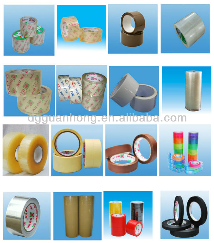 Low Noise Stable Quality Clear Adhesive Tape for Carton Sealing With Dispenser