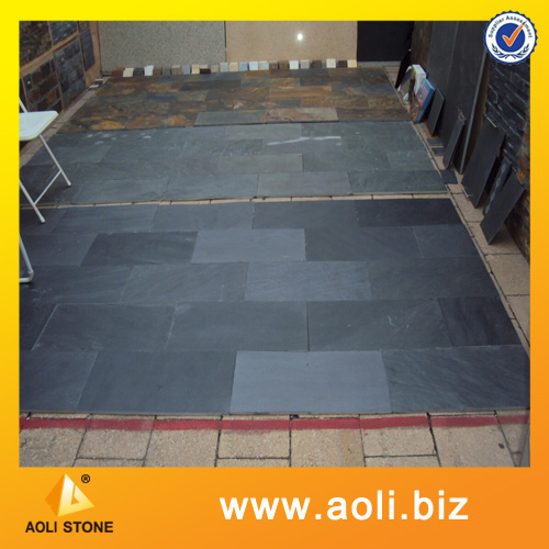 Landscaping stone slate plate for flooring