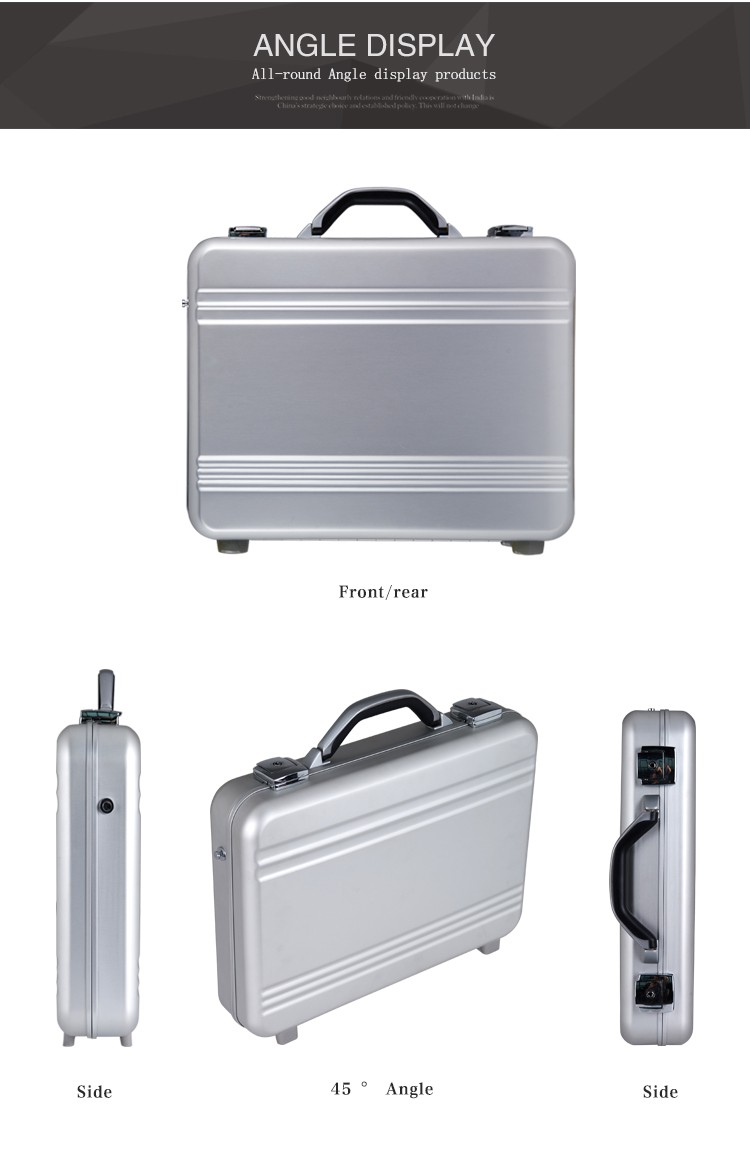 HLW Wholesale custom plastic file briefcase
