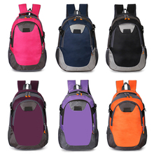 Double straps nylon polyester outdoor travel design your own dry sports waterproof backpack bag