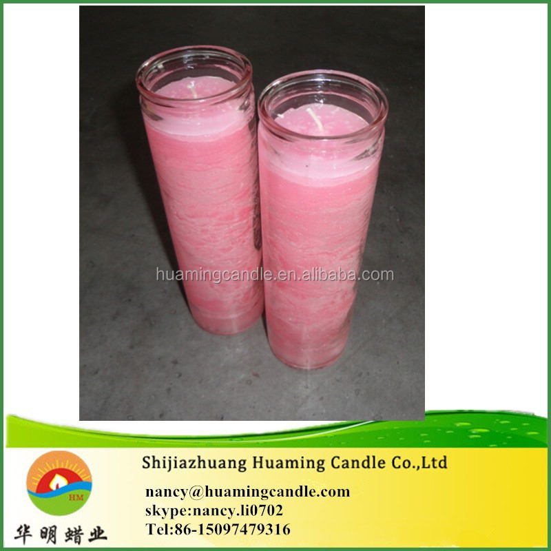 7 day candle religious candle in stock