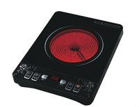Infrared cooker with crystal plate